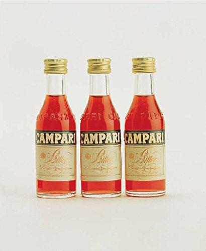 Campari Bitter Miniaturflaschen 25x 0,04l