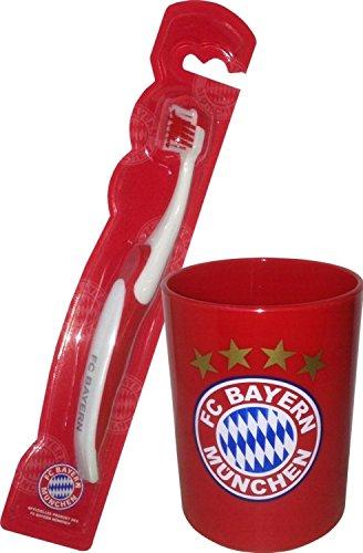 FC Bayern München Zahnputz-Set Kids, 2-tlg.