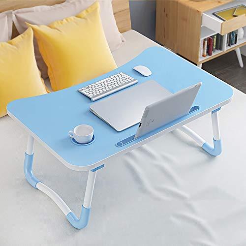 Table pliante simple paresseux pour ordinateur portable table de salon au sol petite table basse avec fente pour tasse courbée petite table avec fente pour cartes ++