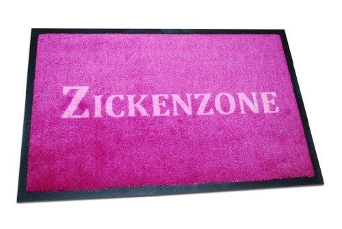 FUNICE Fußmatte Zickenzone