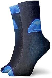 Felsiago - Calcetines cortos de algodón para adultos, para hombre, mujer, yoga, senderismo, ciclismo, correr, fútbol, deporte