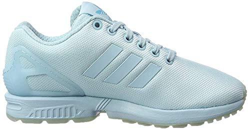 adidas Herren ZX Flux Sneaker, hellblau, 38 2/3 EU