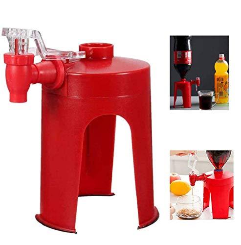 Nouvelle machine à boisson gazeuse à pression manuelle créative étrange, distributeur de soda doux pétillant parfait, distributeur de bouteille de Cola 2 pièces