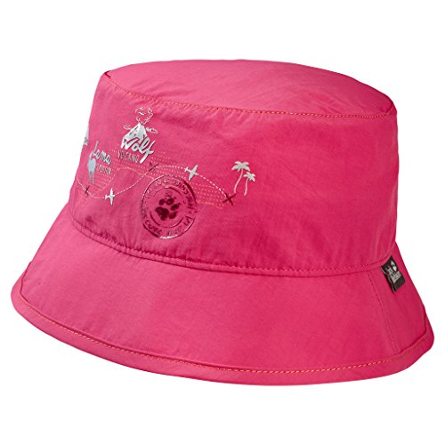 Jack Wolfskin Jungen Supplex Journey Hat Kids Baby Mütze, Tropic Pink, M