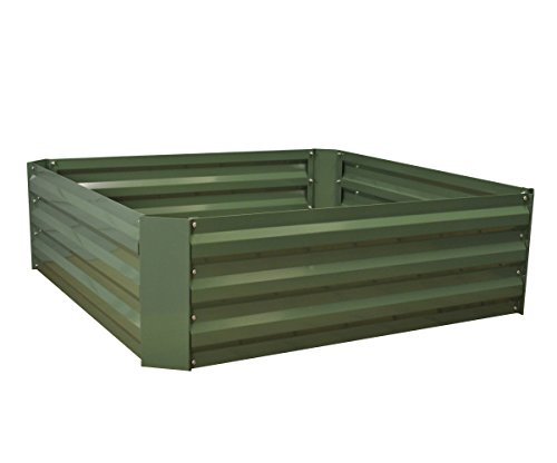 Selections Metal Raised Vegetable Bed