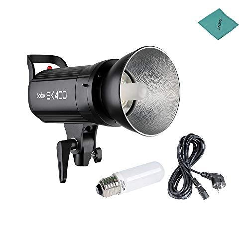 Godox SK400 Flash da studio professionale, SK Series 220 V 400WS GN65 Power Max