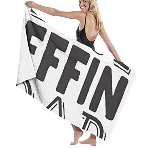 Best Effin Dad Funny Quote Coffee Mug, Fun Mugs, Dad Mug Men and Women Wrap, Shower & Bath, Terry Spa Towel(32inch X 52inch)