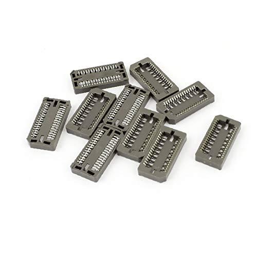 X-DREE 10 stücke 1,27mm Pitch PLCC32P 32 Pins IC Buchse SMT SMD Adapter Lӧtеn PLCC Konverter (a214f7d4c9ff671c20f63adfd918f072)