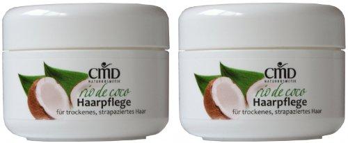 CMD Rio de Coco Haarpflege mit Kokosöl 2er-Pack (bio, vegan, Naturkosmetik) Kokos Haarkur Haarwachs
