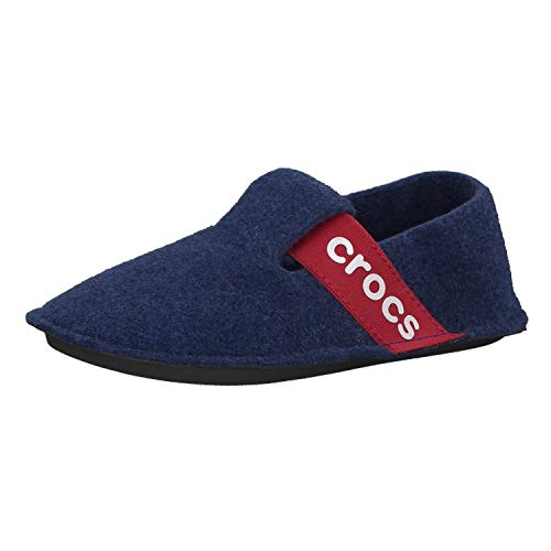 Crocs Classic Slipper K, Zapatillas de estar por casa, Unisex Niños, Azul (Cerulean Blue), 32-33 EU