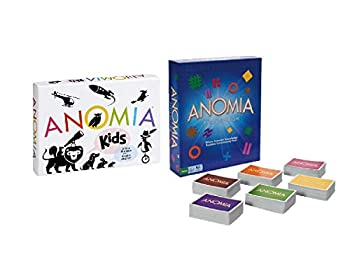 Everest Toys Anomia Kids Children s Card Game + Anomia Party Edition Value Pack!!