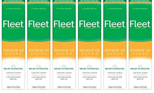 Fleet Mineral Oil Enema, 4.5 Ounce (Pack of 6)