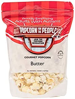 Popcorn for the People Gourmet Popcorn, Butter (Individual Bag)