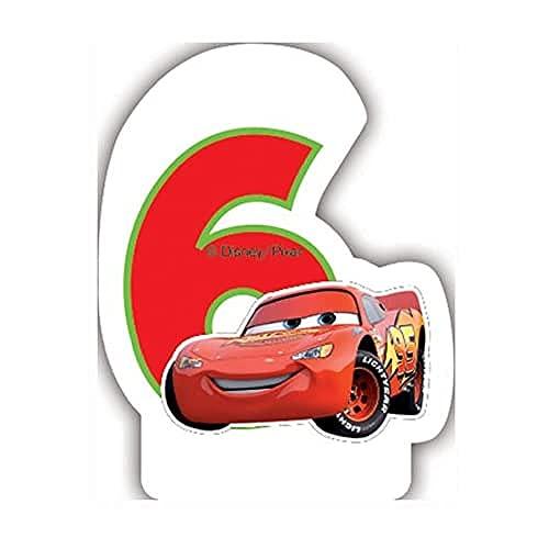 Pixar Neon Disney Cars 5ème Bougie d'anniversaire
