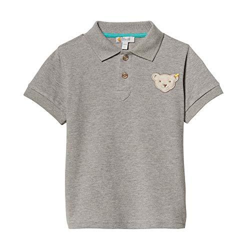 Steiff Jungen Poloshirt, Grau (Gray Violet 9008), 116