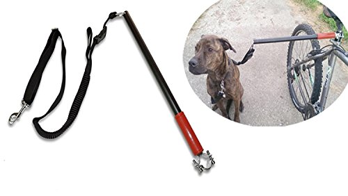 Yosoo Hands Free Dog Bicycle Bike Sport Exerciser Leash Lead Exerciser for Running Exercising Training Walking Jogging