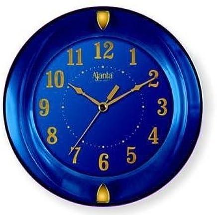 Ajanta Simple Clock (Blue, 1267)