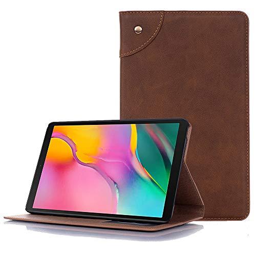 Miya Smart Folio Book Shell PU lederen standaard portemonnee hoesje w/Card Slots voor 2019 Samsung Galaxy Tab A 8.0 inch SM-T290/T295 zonder S Pen Model