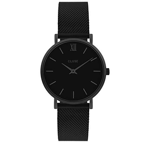 CLUSE Damen Analog Quarz Uhr mit Edelstahl Armband CW0101203012
