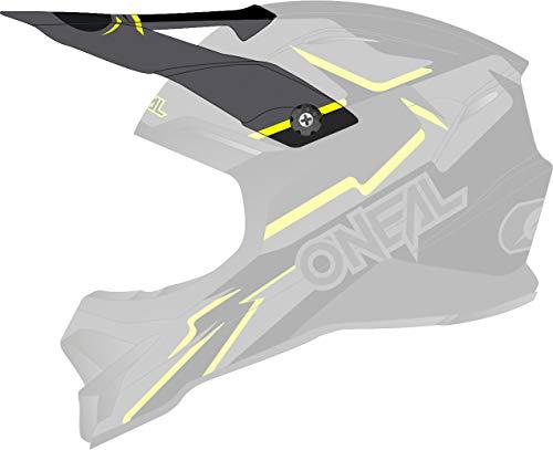 O'NEAL 3 Series Voltage Visor Helm Blende Schirm schwarz/gelb Oneal