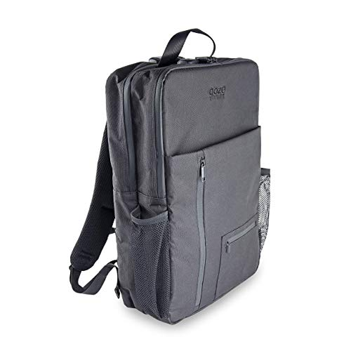 Ooze - Smell Proof Backpack - Luggage Bags - (Backpack Modern)- 18.5 X 13.5 X 5 - Smell Proof Bag With Lock - Carbon Lining - Discreet Travel Bag - Odor Proof Bag - Scent Proof Bag - Herb Guard