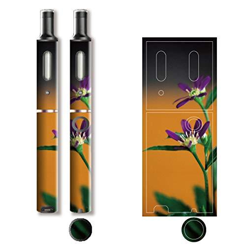 電子たばこ タバコ 煙草 喫煙具 専用スキンシール 対応機種 プルーム テック プラス Ploom TECH+ Ploom Tech Plus 和柄モチーフデザイン 04 和柄 01-pt08-0026