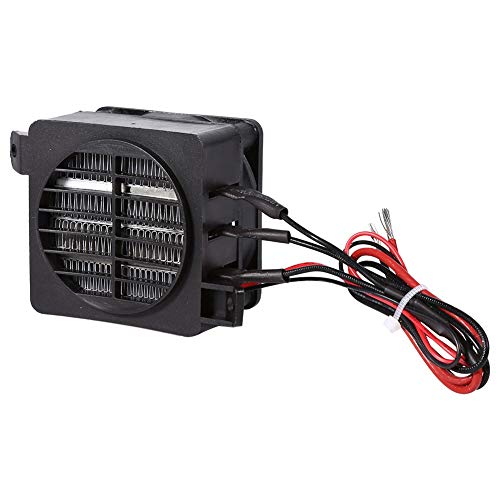 100 W 12 V PTC luchtverwarmer, constante temperatuur PTC elektrische luchtverhitter met automatische regeling voor verwarming, luchtbevochtigers, airconditioners
