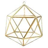 Contenedor de terrario geométrico Jardinera de vidrio Planta de vidrio Maceta Decoración de alféizar de escritorio