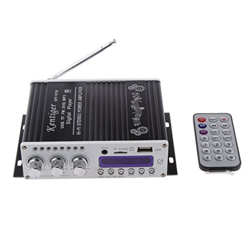 DollaTek Mini Bluetooth Hallo-Fi-Stereo-Audio-AMP Verstärker Bass Booster MP4 12V Unterstützung FM / MP3 / TF/USB/DVD für Auto-Motorrad-Auto-CD DVD
