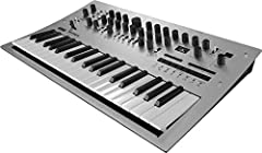 Flexible, powerful four-voice analog synthesizer. Power Consumption - 8 Watt Fully programmable, with 200 program memories (100 sounds included) Voice Mode lets you flexibly configure the four voices Automatable 16-step polyphonic note and motion seq...