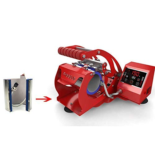 Accesorios para impresora Freeshipping Wtsfwf 7.5 - 9.5 cm, taza de sublimación de silicona, ajuste compatible con ST-210 ST-110 ST-130, parte calefactora 110 V o 220 V (color 220 V compatible con st