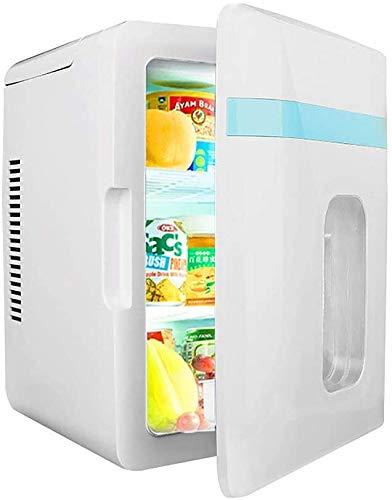 LCSD Mini nevera Buena mini refrigerador, refrigerador termoeléctrico portable y más caliente |12 litros - 6 latas de viaje refrigerador compacto, sistema de refrigeración Potente, ligero y tranquilo,