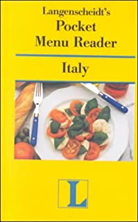 Pocket Menu Reader Italy (Langenscheidt Pocket Menu Reader) (English and Italian Edition)