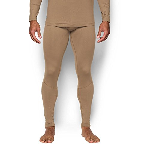 Under Armour Tac Coldgear Legging infrarouge pour homme, Homme, 1244395, Coyote Brown (728)/Coyote Brown, XL