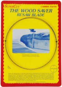 SuperCut B143S1T3 WoodSaver Resaw Bandsaw Blade, 143' Long - 1' Width, 3 Tooth, 0.025' Thickness