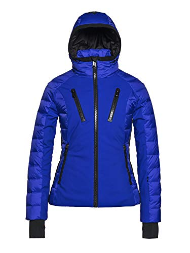 GOLDBERGH W Fosfor Jacket Blau, Damen Daunen Freizeitjacke, Größe 42 - Farbe Electric Blue
