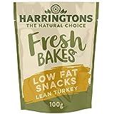Harringtons Fresh Lean Turkey Low Fat Dog Snacks 100g, pack of 7