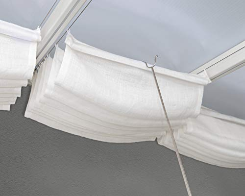 Palram Canopia Patio Cover Roof White Blinds (3X5.46)