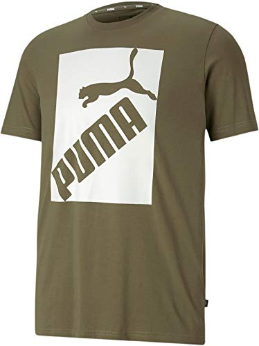 PUMA Men's Big Logo, Burnt Olive, XL