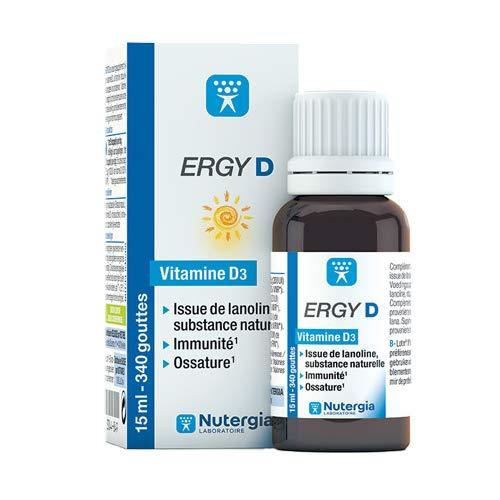 Nutergia ERGY D a base de vitamina D3 – Lote de 2 cajas (2)