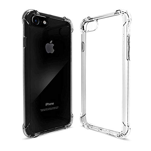 SUPARDS Clear Case Compatible with iPhone 6 Plus/6S Plus, for iPhone 6 Plus/6S Plus(5.5inch) Protective Case Cover [4 Reinforced Corners] Shockproof Case with TPU Soft Bumper for iPhone 6/6S Plus.