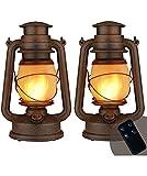 Best LED Lanterns - LED Vintage Lantern, Outdoor Hanging Camping Lanterns Flickering Review