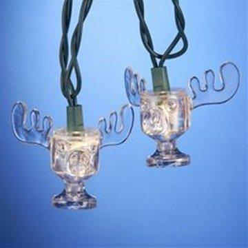 String Lights, Lampoon's Christmas Vacation Marty Moose Mug, Outdoor, 11 Ft
