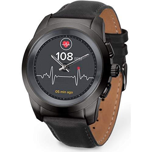 MyKronoz Smartwatch schwarz