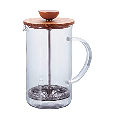 Hario Olivewood Coffee and Tea Press, 600ml
