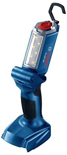 Bosch GLI18V-300N Luz de trabajo LED articulada de 18 V (herramienta desnuda), 2 Ah