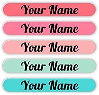 Personalized Waterproof Mini Labels (Tropical Palette Theme)