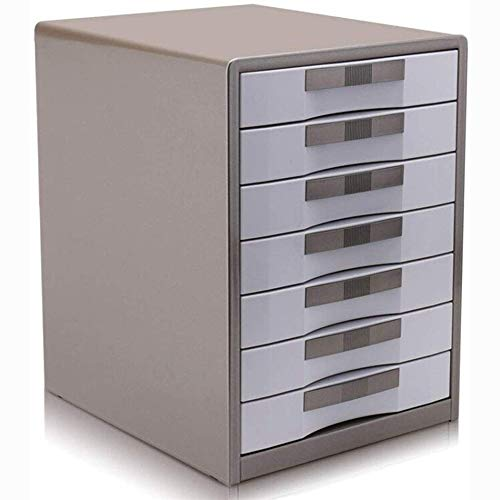 XHMCDZ La presentación de archivo contenedor móvil Cierre los gabinetes de almacenamiento caja de metal cajoneras, organización de datos de escritorio, gabinetes de almacenamiento