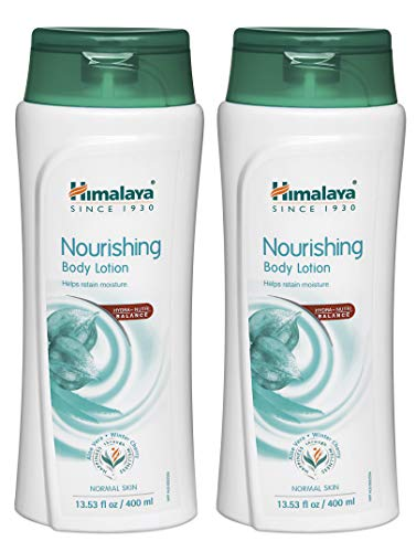 Himalaya Nourishing Body Lotion (2 Pack) for Normal Skin, with Aloe Vera and Winter Cherry, Moisturizes & Protects, 13.53 oz (400 ml)