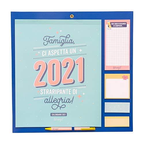 Mr. Wonderful Calendario famiglia - Famiglia, ci aspetta un 2021 straripante di allegria!